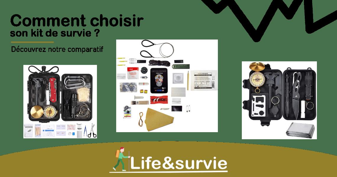 Fiche comparatif life and survie Kit de survie