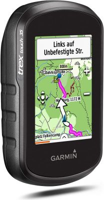 Garmin-eTrex-Touch35-GPS test