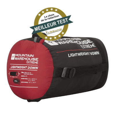Mountain Warehouse Summit 300 – sac de couchage – Meilleur Test