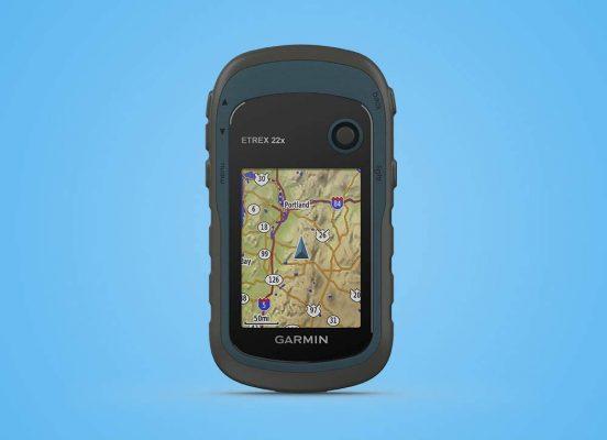 GPS portable Garmin ETREX 22x avec écran couleur de 2,2 pouces