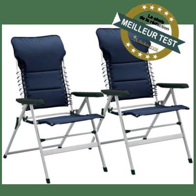 Campart Travel chaise pliante de camping fiche meilleur test