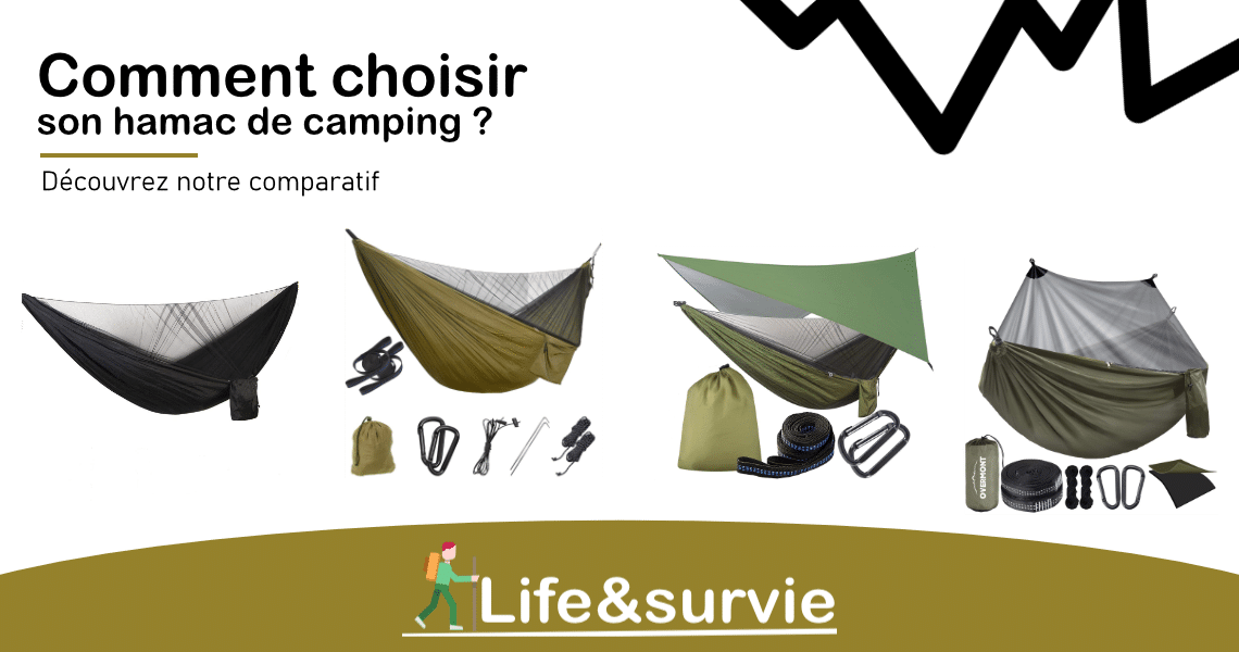 Fiche comparatif life and survie Hamacs de camping
