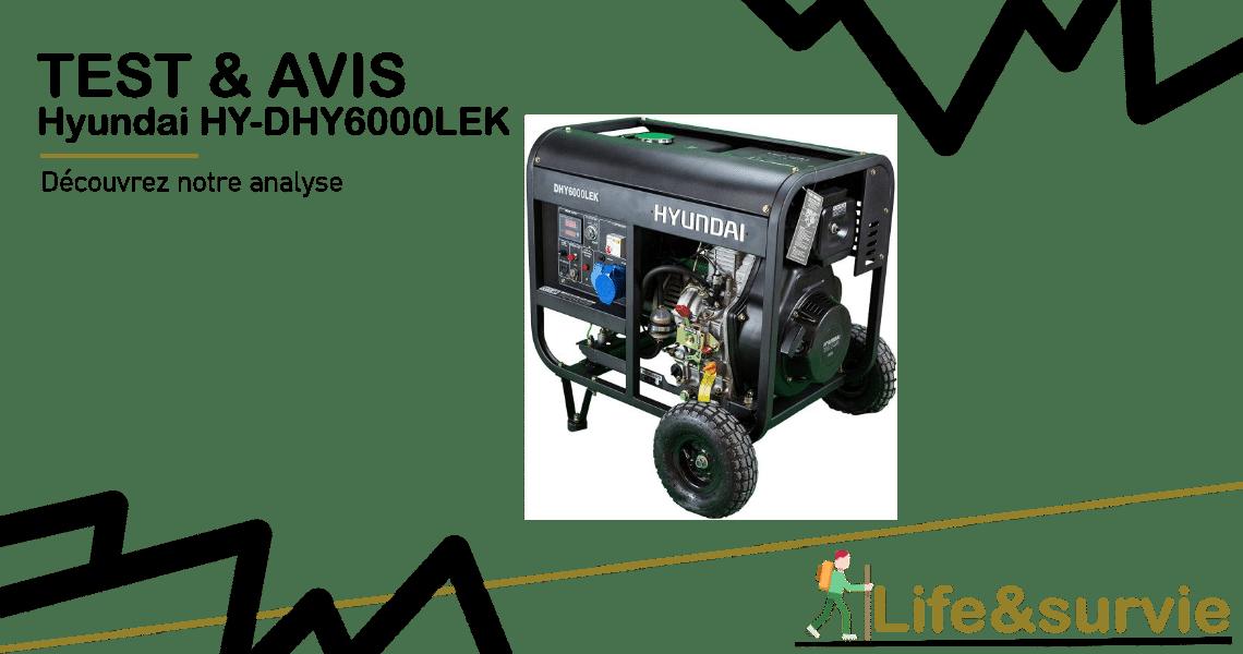 Fiche produit test et avis life and survie Generateur-electrique-Hyundai HY-DHY6000LEK