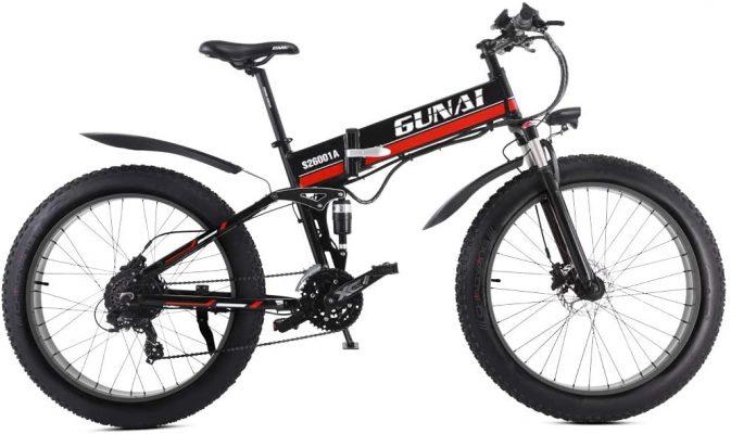 GUNAI Vélo de Montagne électrique Pliant