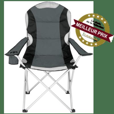 TecTake chaise pliante de camping fiche meilleur prix