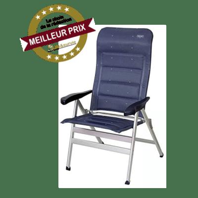 Vertrieb Holly Crespo chaise pliante de camping fiche meilleur prix
