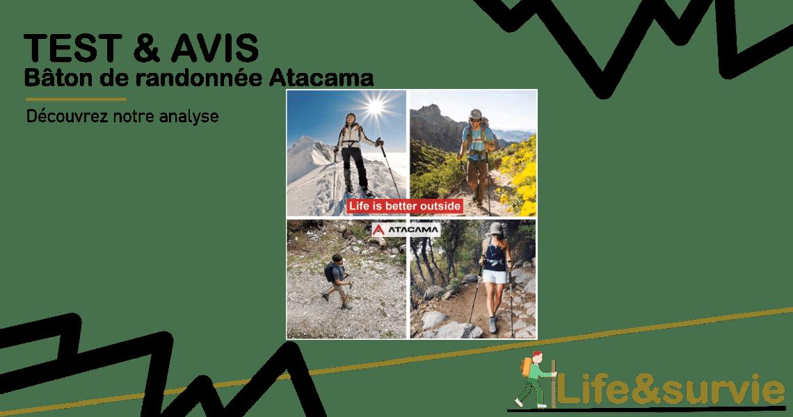 Baton de randonnee Atacama