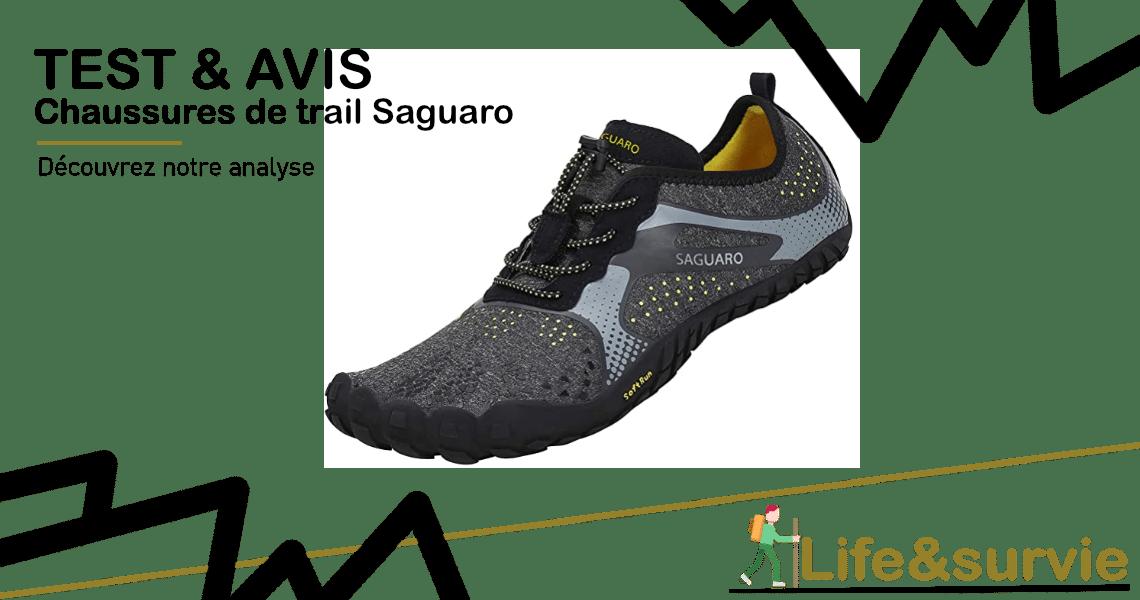 Fiche produit test et avis life and Survie Chaussures de trail Saguaro