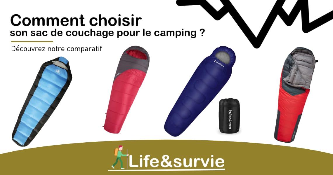 Fiche comparatif life and survie les 10 meilleurs sacs de couchage pour le camping