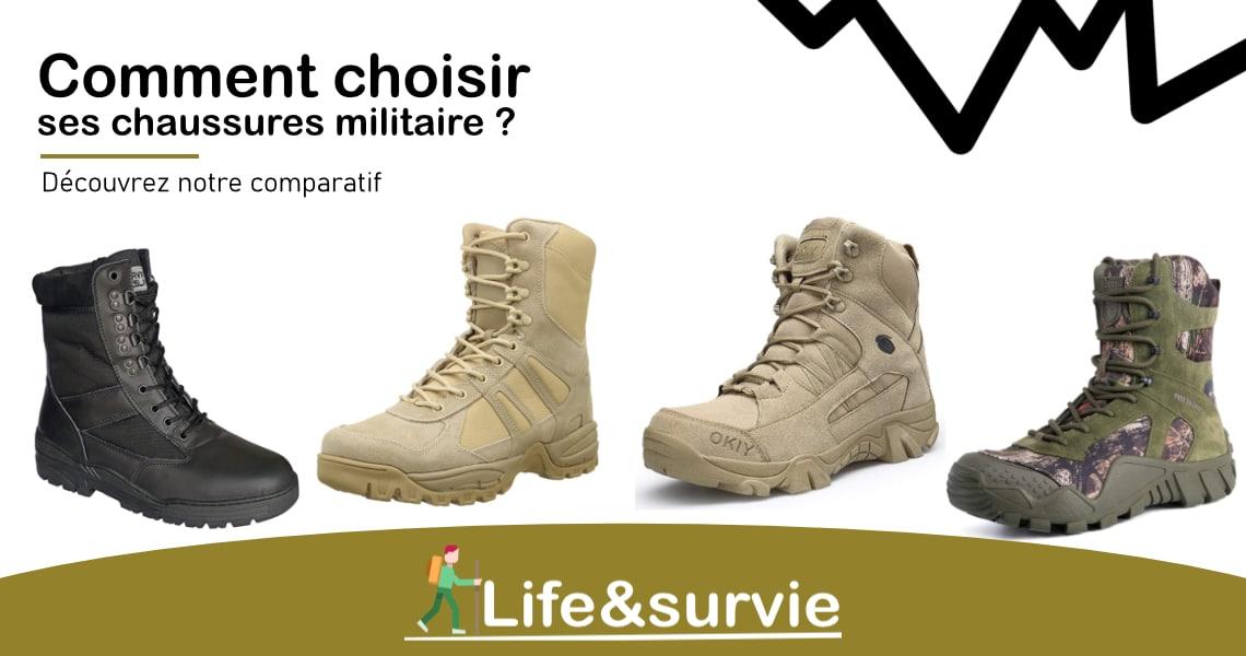 Fiche comparatif life and survie les meilleures chaussures militaires