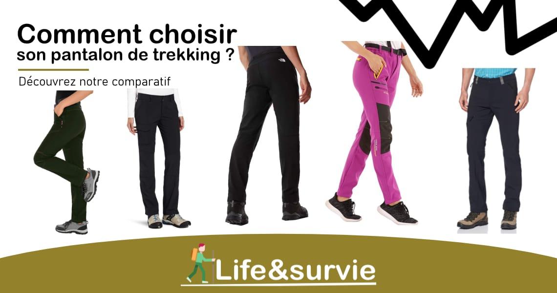 Fiche comparatif life and survie les meilleurs pantalon de trekking