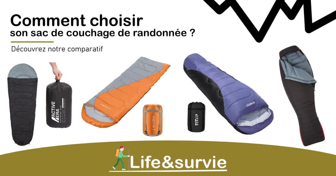 Fiche comparatif life and survie les meilleurs sacs de couchage pour la randonnée