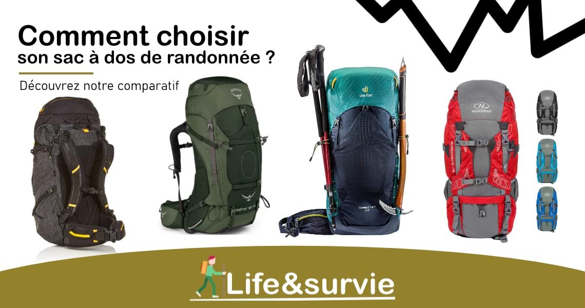 Fiche comparatif life and survie les meilleurs sacs à dos de randonnée
